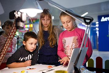 Открытие мультипликационной студии при детском центре развития Алақай