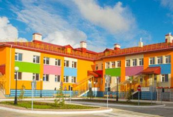 Строительство детского сада на 360 мест в районе пересечения улиц Хусейн бен Талал и №36