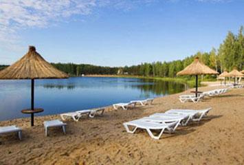 Открытие зоны отдыха близ г. Астана